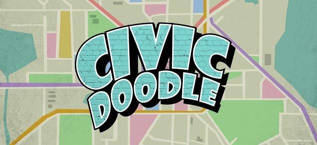 civic doodle logo image jackbox games