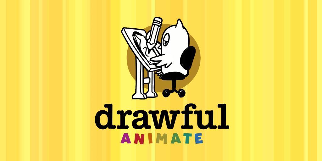 Drawful Animate logo