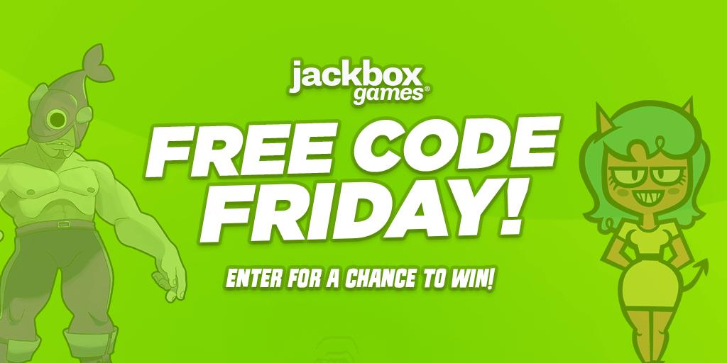 Free Code Friday logo art
